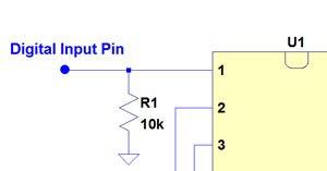 pull down resistor