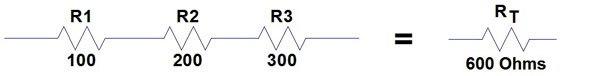 resistors in series example