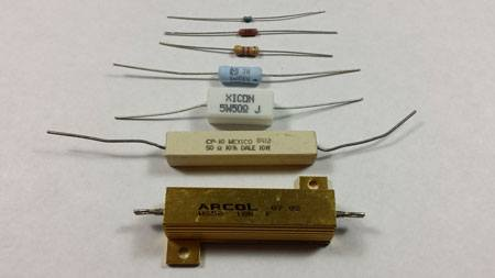 resistor packages