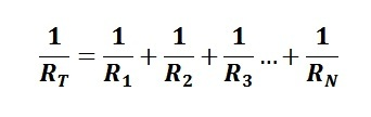 resistors in parallel equation