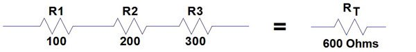resistors in series example